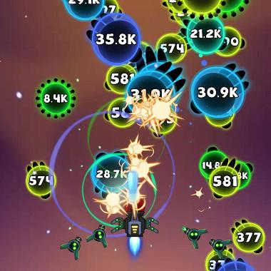 微信小游戏《消灭病毒》爆红:最火的弹幕射击游戏