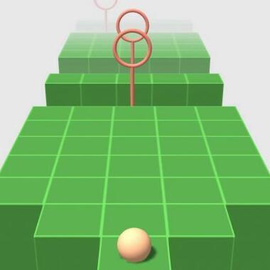 另类跑酷微信小游戏推荐:《高台穿越》