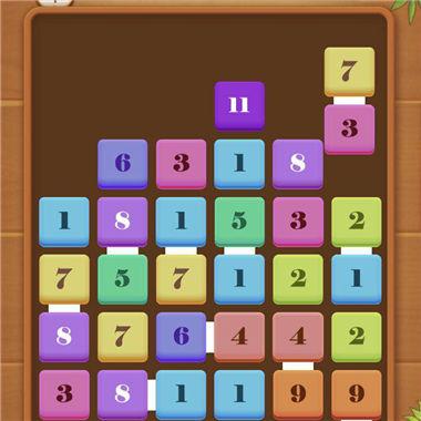 《对战方块》好玩的益智休闲微信小游戏推荐