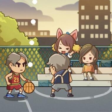 鸡你太美!打篮球微的微信小游戏《篮球偶像》