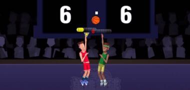 单挑篮球超燃小游戏