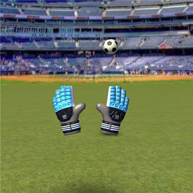 《超级守门员》考验反应力的足球类微信好运3D