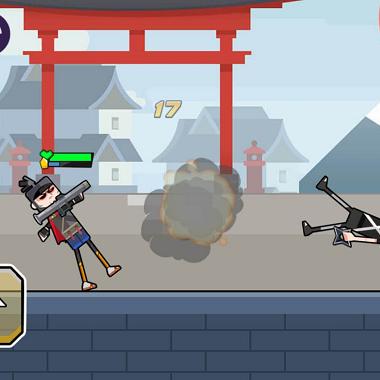 好玩的微信五分11选5推荐:创意游戏《我反手就是一枪》