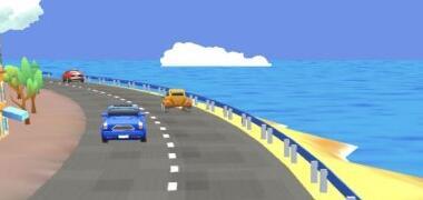 可以逆行的赛车类微信小游戏《口袋漂移》