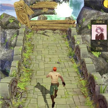 《神庙逃亡2》经典IP改编的跑酷微信小游戏
