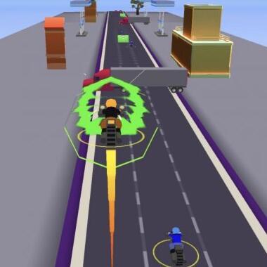 超竞速跑酷微信小游戏《疯狂送外卖》