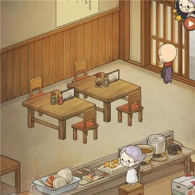 《众多回忆的食堂故事》治愈系模拟经营微信小游戏