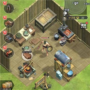 《荒野求生3D版》沙盒冒险生存逃脱微信小游戏